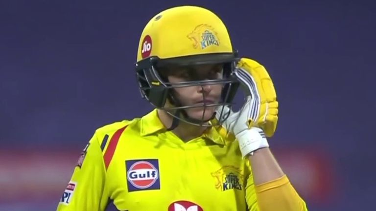 Sam Curran scored 22 for Chennai