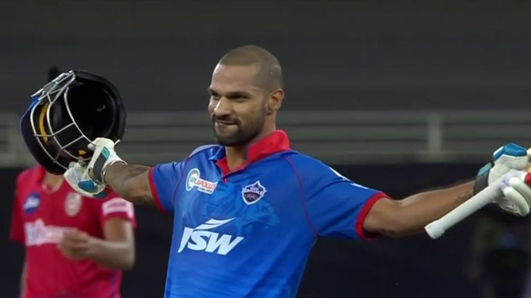 Shikhar Dhawan is the first player to score back-to-back IPL centuries