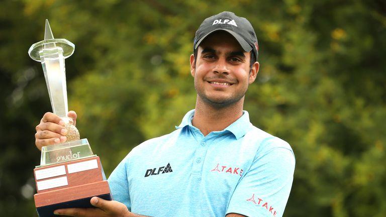 Shubankar Sharma won the Joburg Open in 2017