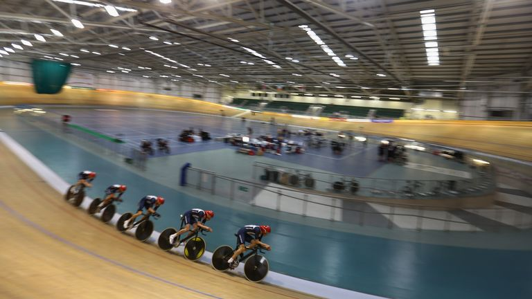 Watching the Team GB track cycling team training in Newport ahead of London 2012 inspired Emily