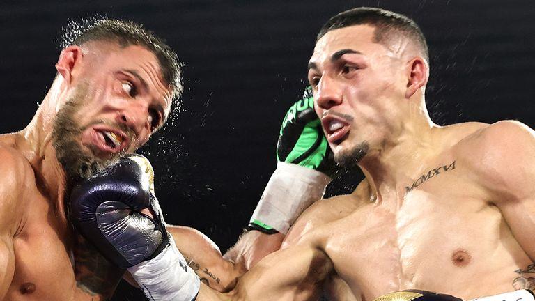Lopez sealed a unanimous decision win over Ukrainian star Vasiliy Lomachenko