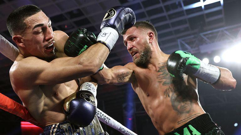 Lomachenko was stifled by the powerful Lopez