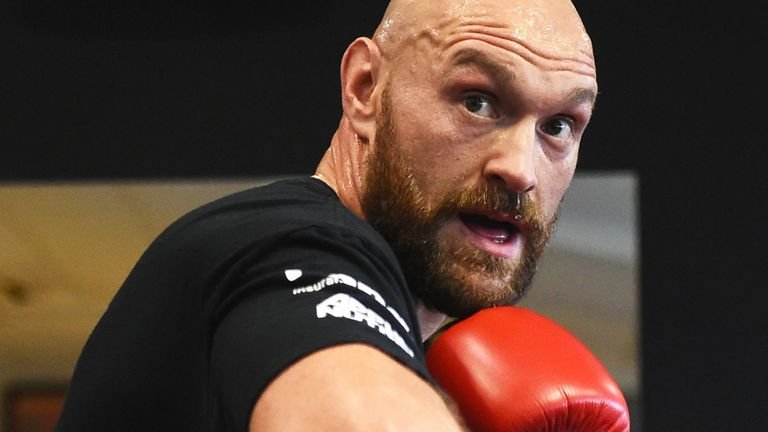 Tyson Fury is set to announce an opponent for his next fight in Britain