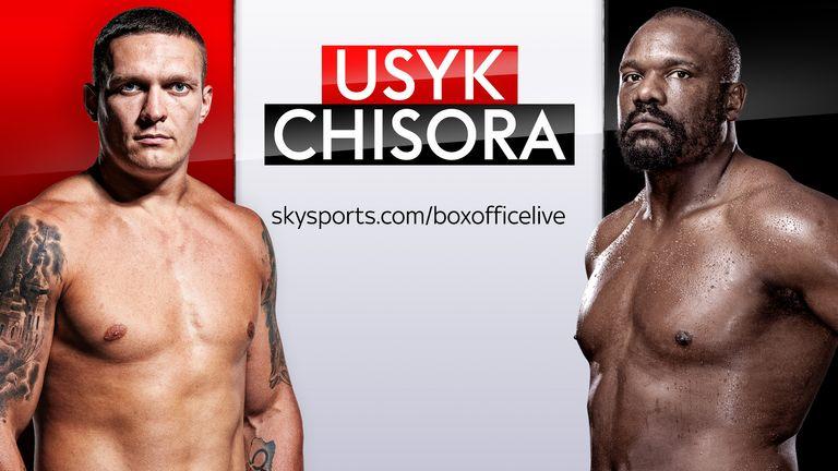 Non-Sky customers can still watch Usyk vs Chisora, live on Sky Sports  Box Office