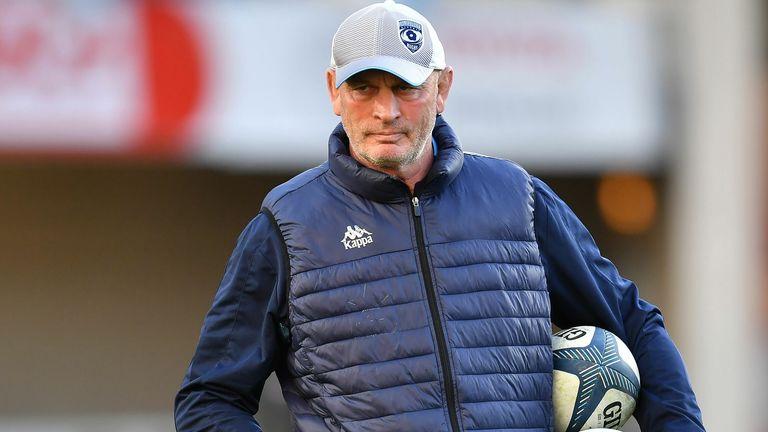 Fiji coach Vern Cotter