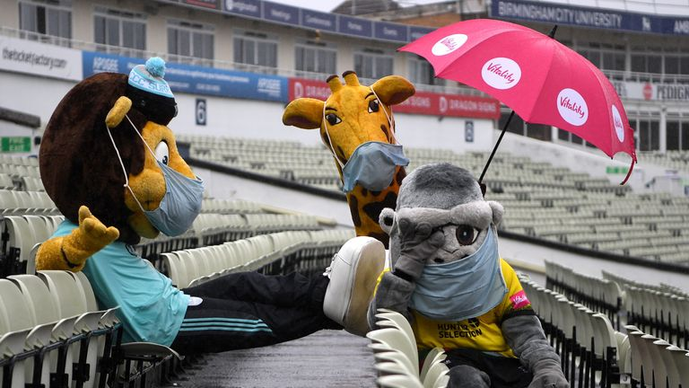 Vitality Blast Finals Day has been hampered by rain across the weekend at Edgbaston