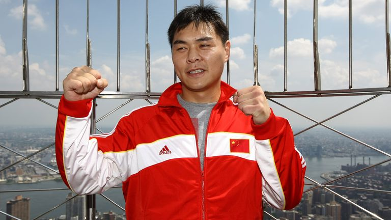 16 of Zhang's 21 fights have been in the US