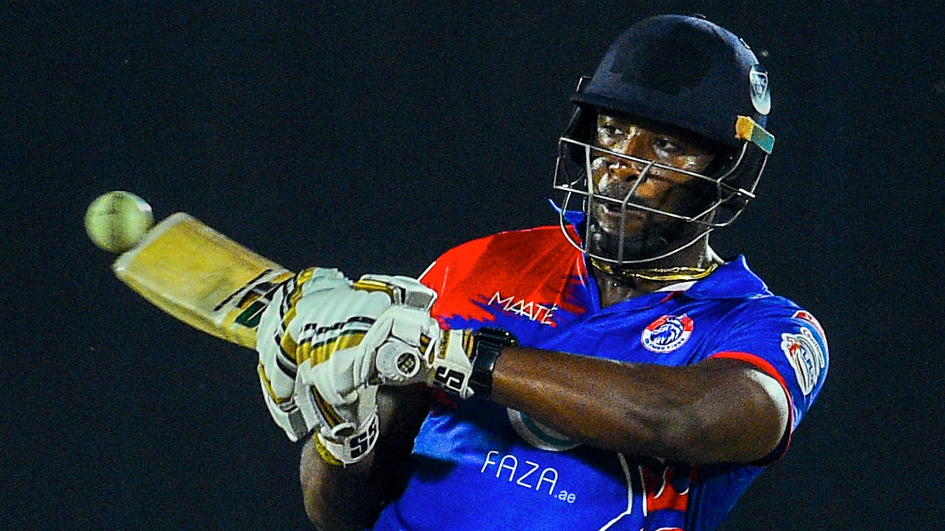 Russell hits 14-ball fifty as Colombo score 96 in five overs