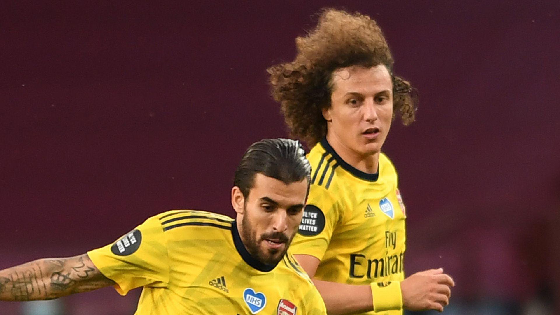 Ceballos: Luiz incident shows Arsenal character