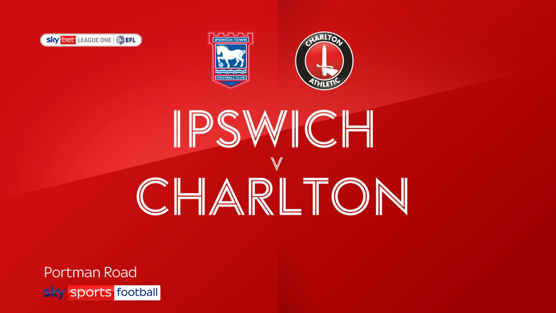 Charlton strike twice to sink Ipswich