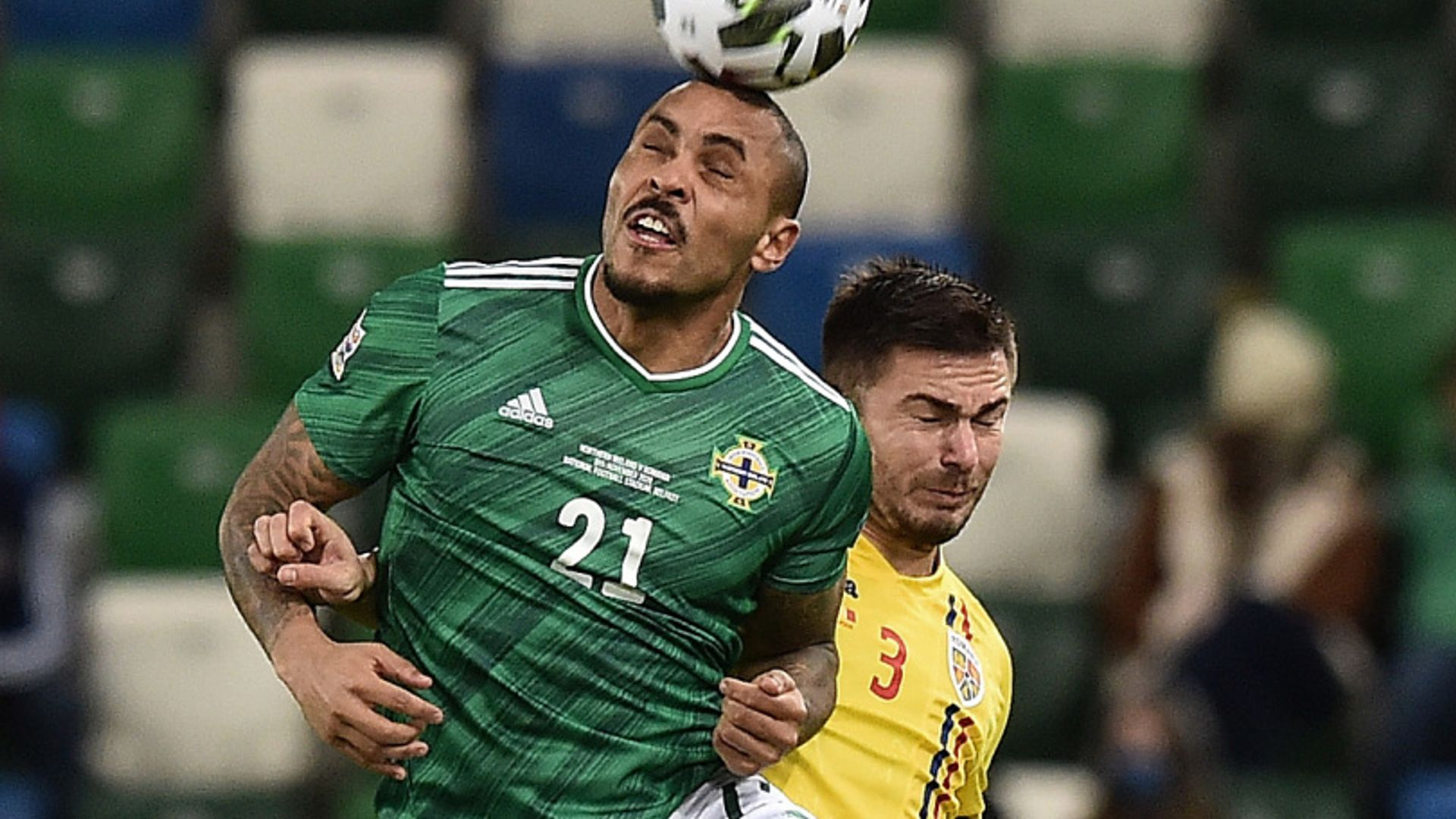 Northern Ireland 1-1 Romania highlights