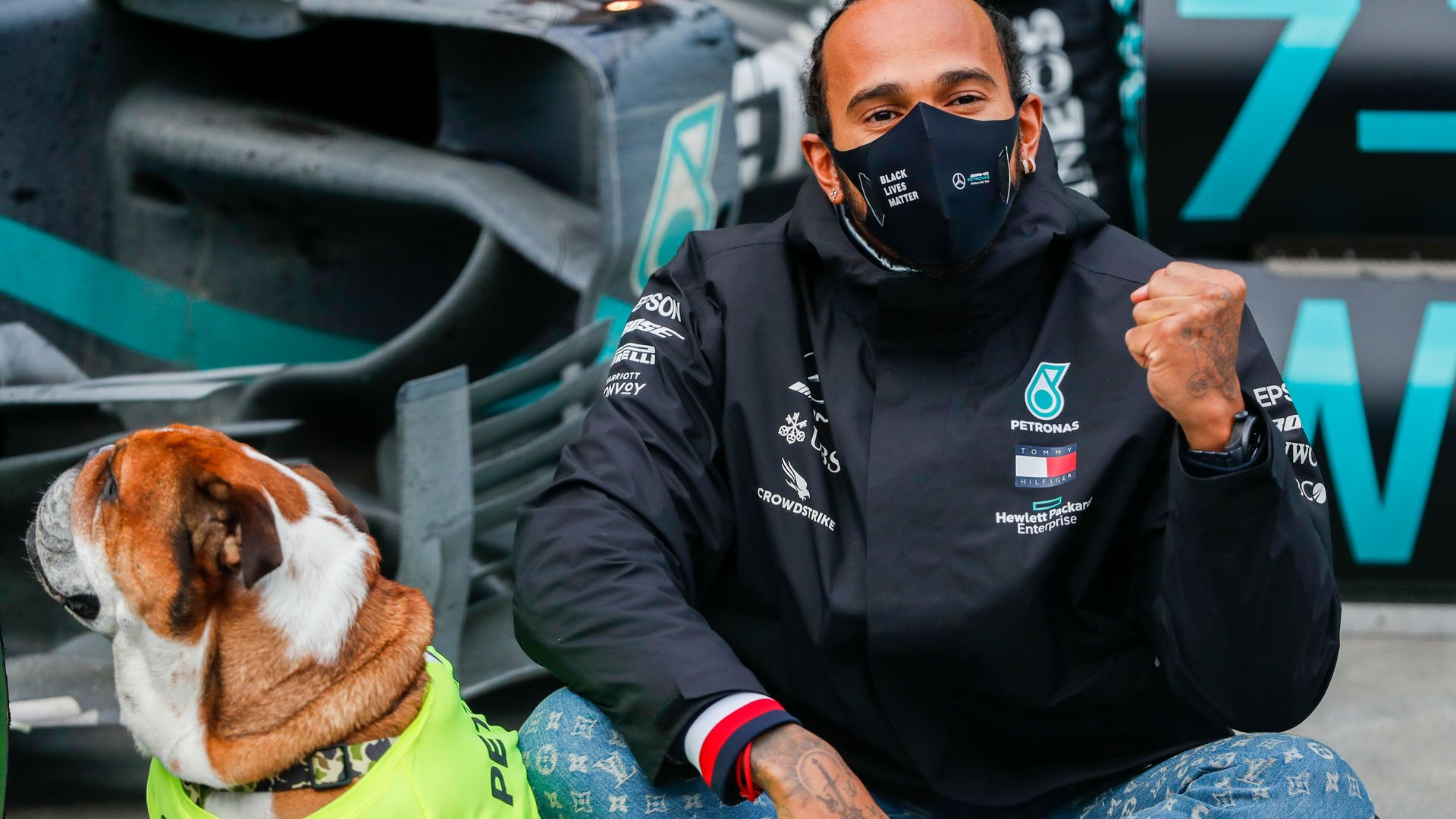 History-maker Hamilton: I'm just getting started