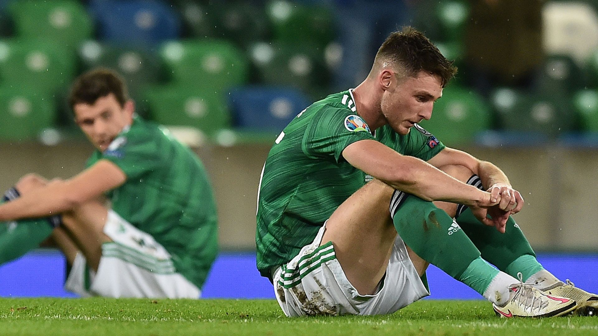 Northern Ireland relegated from Nations League B