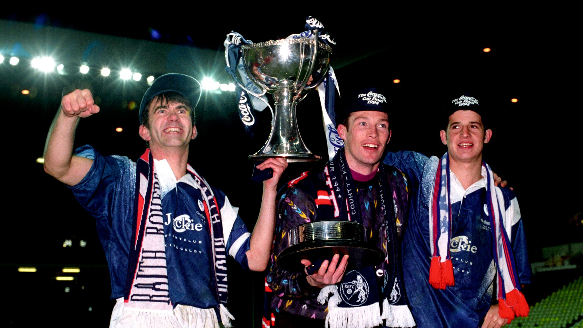 When Raith Rovers won the cup