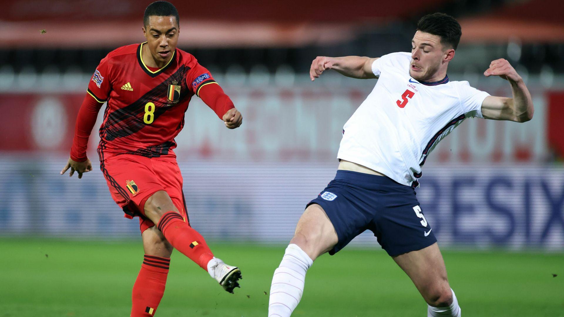 Belgium end England's Nations League hopes