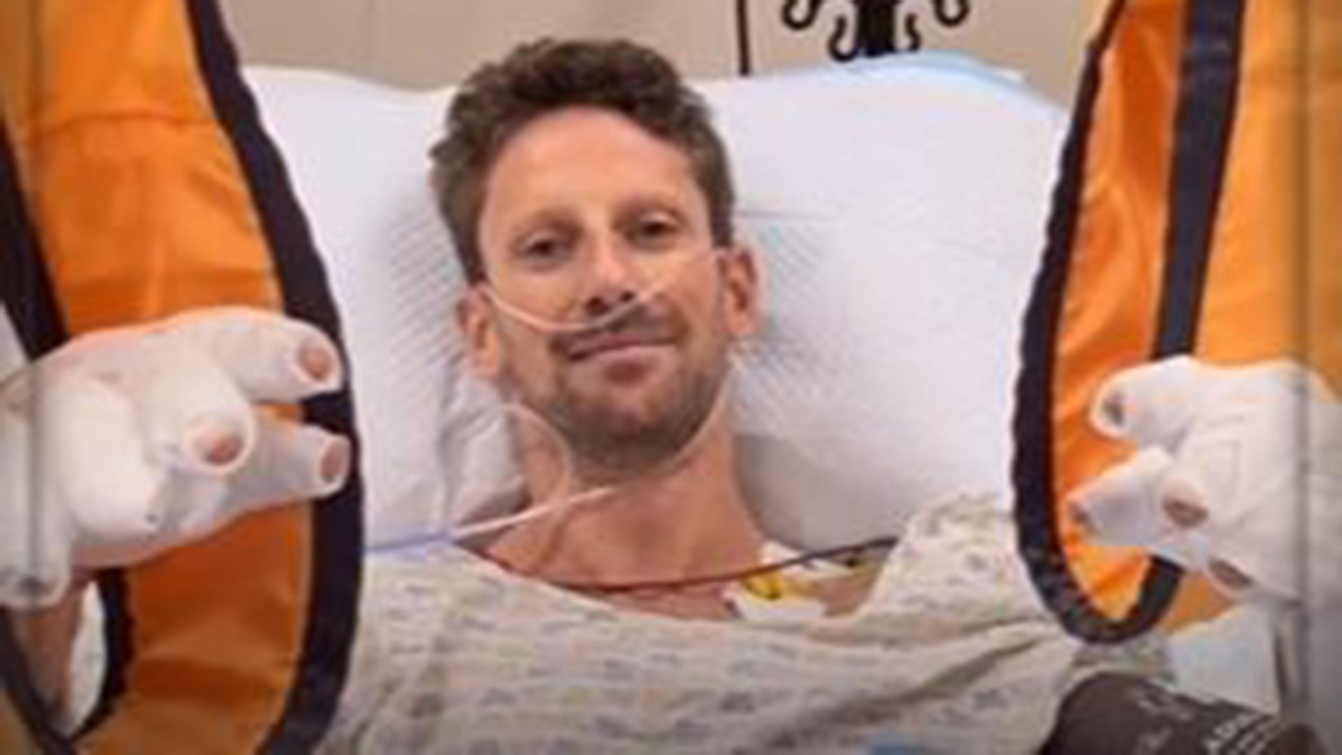 Romain Grosjean: Haas driver leaves Bahrain hospital to continue burns treatment in private