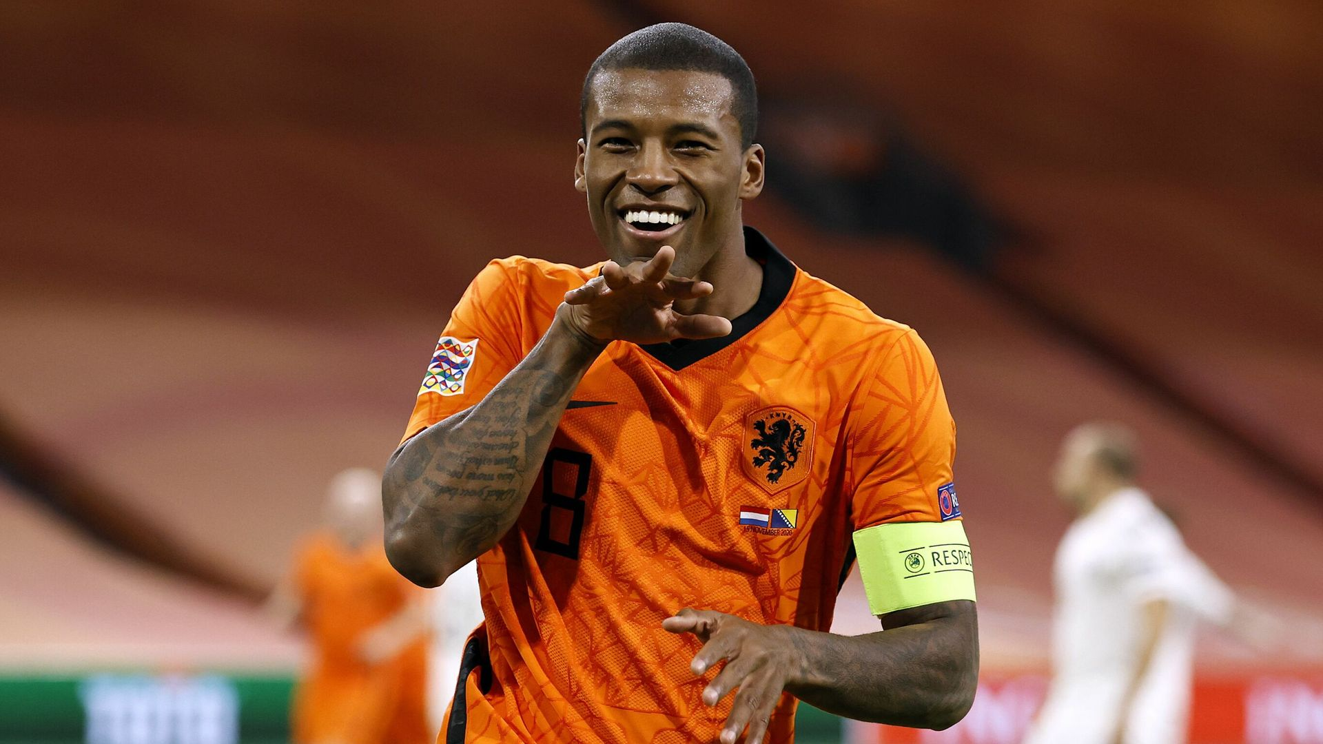 Nations League: Wijnaldum stars for Netherlands
