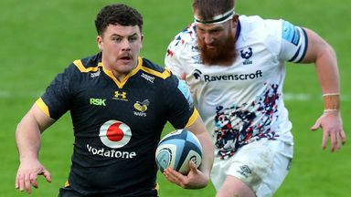 Alfie Barbeary has earned an England call-up following some impressive performances for Wasps