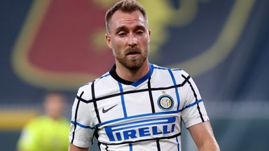 Christian Eriksen has started only four games for Inter Milan this season