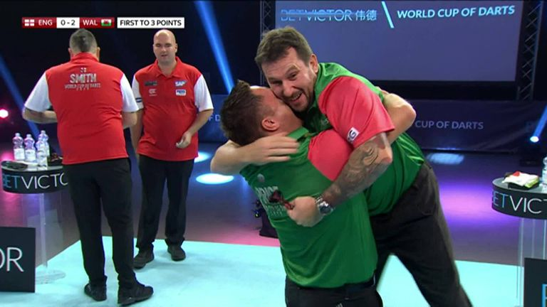 Wales beat England 3-0 in the 2020 final to win the World Cup of Darts for the first time.