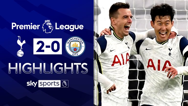 FREE TO WATCH: Highlights from Tottenham's win against Manchester City.