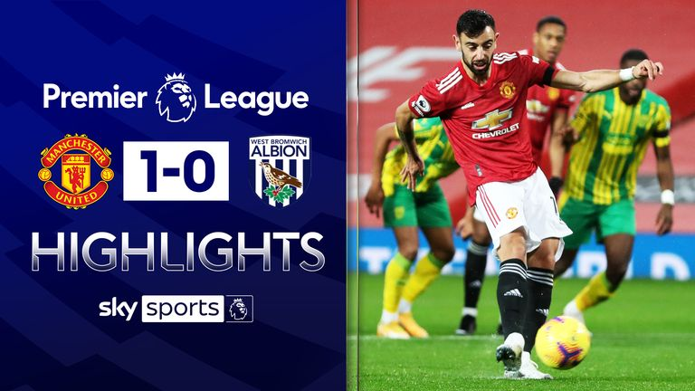 FREE TO WATCH: Highlights from Manchester United's win against West Brom in the Premier League