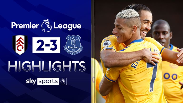 FREE TO WATCH: Highlights from Everton's win at Fulham.