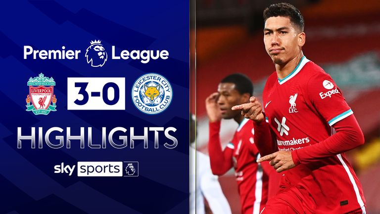 FREE TO WATCH: Highlights from Liverpool's 3-0 win over Leicester