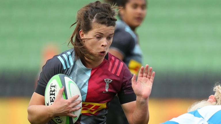 Ward has with Harlequins in the Premier 15s since 2017