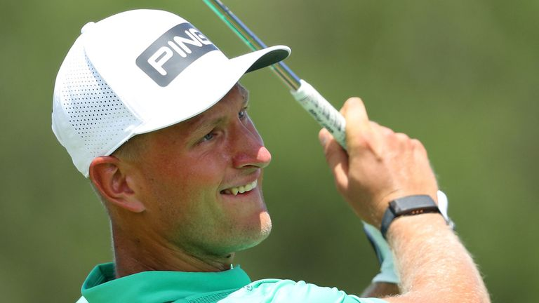 Adrian Meronk holds a one-shot lead at the Alfred Dunhill Championship