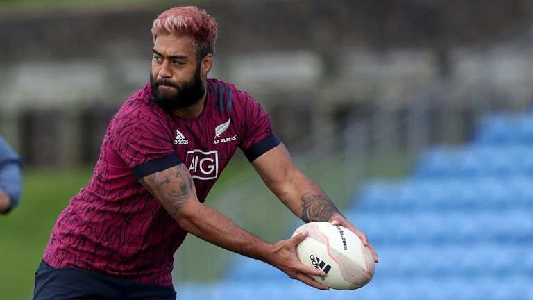 Blues back-row Akira Ioane will make his Test debut for the All Blacks