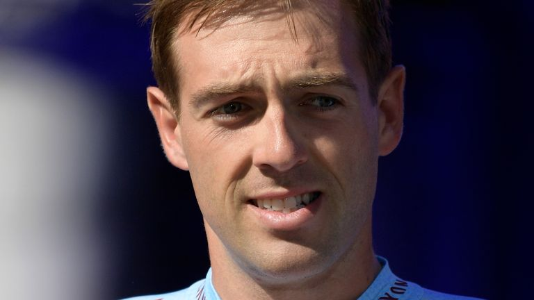 Alex Dowsett said his health is 'first and foremost the priority'