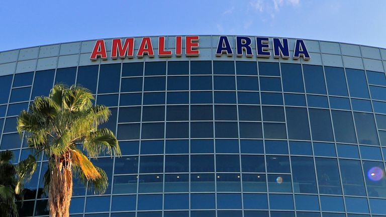 The Amalie Arena in Tampa will host Toronto Raptors 'home' games in the forthcoming NBA season