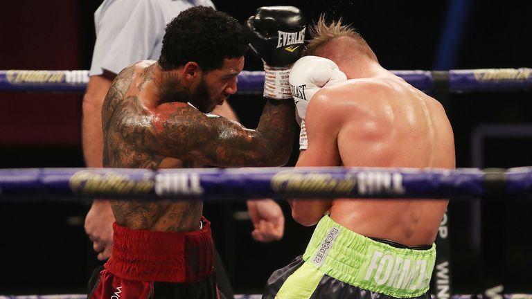 Benn retained his WBA continental belt