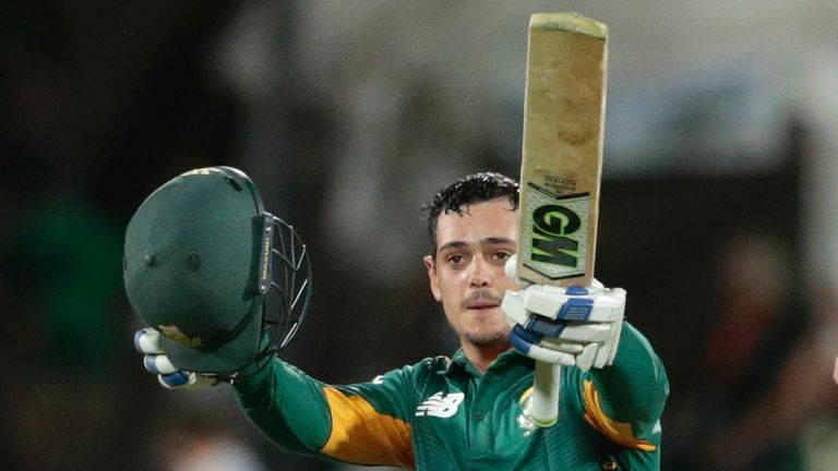 Quinton de Kock's century against England at Centurion helped to turn the ODI series in South Africa's favour