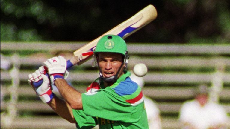 Kepler Wessels' South Africa side saw their 1992 World Cup hopes ended by a controversial rain rule
