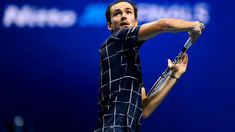 Daniil Medvedev is the latest player to use the underarm serve whilst playing at the ATP Finals in London