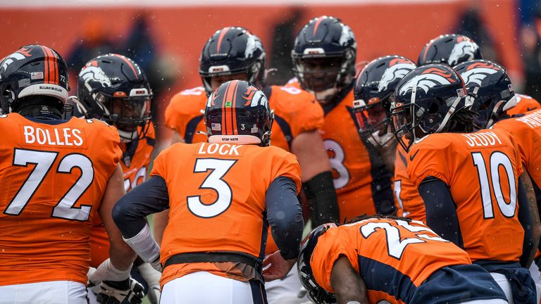 All four of the Denver Broncos quarterbacks have been ruled out of Sunday's game with New Orleans