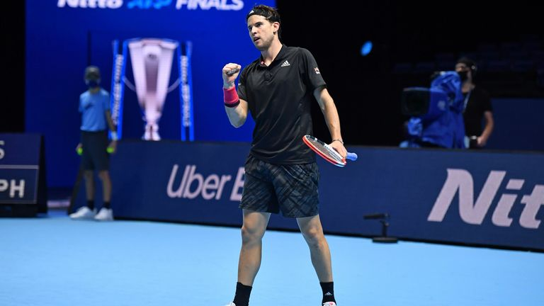 Thiem will attempt to go one better than last year when he lost to Stefanos Tsitsipas in the final