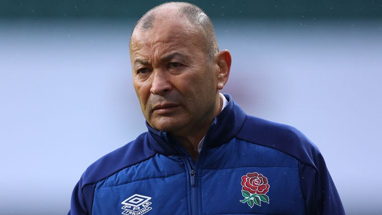 Eddie Jones' side have only lost one Test since last year's World Cup final in Tokyo