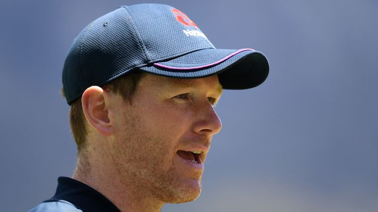 Captain Eoin Morgan says it's important for England to put on a show against South Africa as the effects of lockdown continue to be felt at home. (Credit ECB)