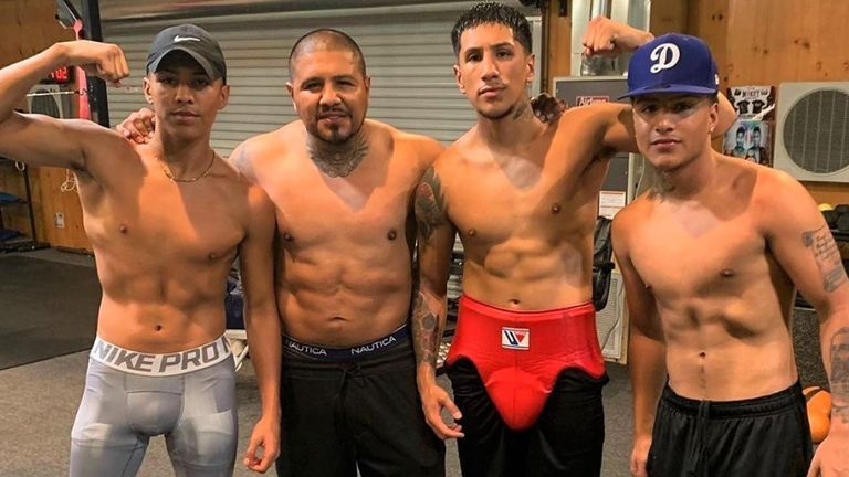 The former world champion now trains his three sons