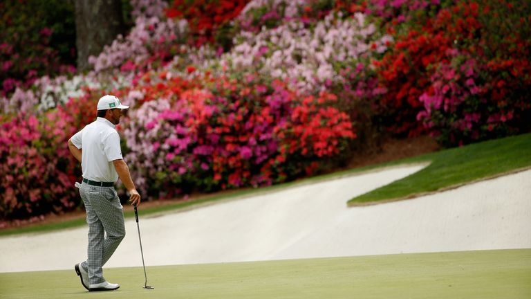 McDowell will be unable to see Augusta National in full bloom at this time of year