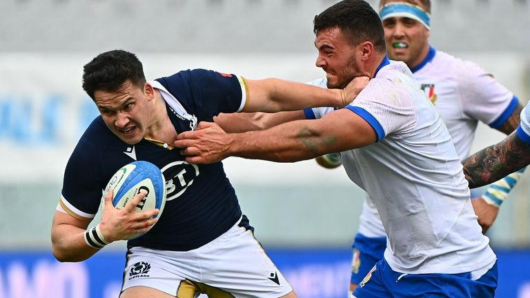 Scotland's most recent victory came against Italy last weekend