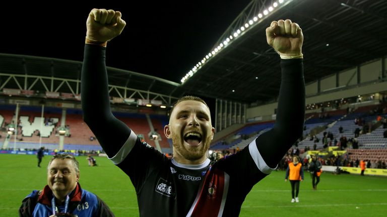 Jackson Hastings helped Salford beat Wigan in the Super League semi-finals last year