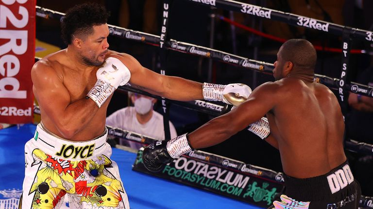 Joe Joyce stops Daniel Dubois in 10th round of heavyweight fight | Boxing News