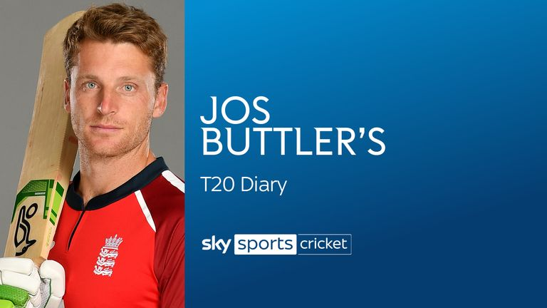 Jos Buttler is preparing to open in England's T20I series against South Africa