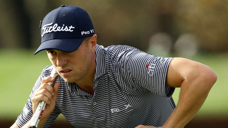 Justin Thomas is chasing a second major title and his first since the 2017 PGA Championship
