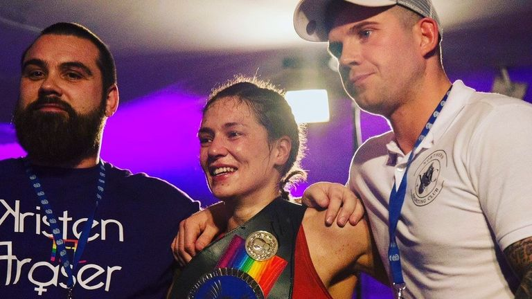 Rainbow Laces: Kristen Fraser still has strong faith in LGBT+ visibility and her world title potential | Boxing News