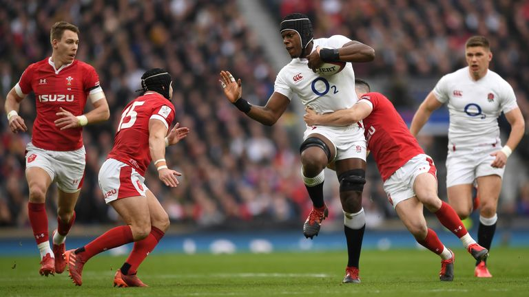 England beat Wales 33-30 in this year's Six Nations at Twickenham